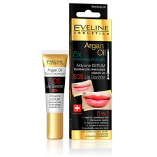 Eveline Cosmetics Hyaluron Argan Oil Lip Booster 12ml Serum