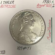AUTRICHE - THALER 1780 X (Marie-Thérèse) Pièce de Monnaie en Argent - TTB (Ref5
