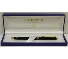 WATERMAN GENTLEMAN  BLACK & GOLD TRIM  0.5mm  PENCIL NEW IN BOX