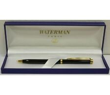 WATERMAN GENTLEMAN  BLACK & GOLD TRIM  0.5mm  PENCIL NEW IN BOX