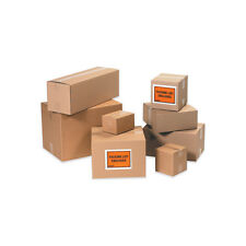 25 6x5x4 Corrugated Packing Boxes
