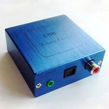 PCM2704 USB to DAC Optical S/PDIF USB Sound Card Decoder Board + Aluminum case