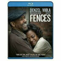 Fences [Blu-ray] Denzel Washington 1-BLU RAY DISC & ONLY IN EXCELLENT  CONDITION