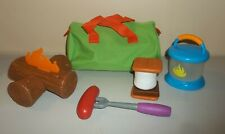 Learning Resources Pretend Play Camp Out Camping Kit - Smores, Fire, More