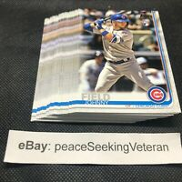 Johnny Field - 25x ROOKIE Card Lot BASE 2019 Topps Series 2 #606 Cubs RC