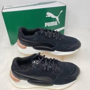 Women's PUMA RS 9.8 Metallic Puma Black Heather Size 8 M - New in Box