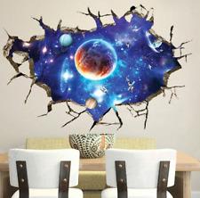Wandbild Wandtattoo Decke Bild Weltall Planeten Astronaut Galaxy Sticker Neu Top