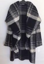 OMO Norma Kamali Black & White Rarely Seen Iconic Cocoon Coat Fabulous