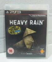 HEAVY RAIN - PS3 PLAYSTATION 3 GAME COMPLETE