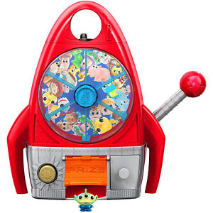 Disney Toy Story Alien Pizza Planet 3-in-1 Playset Slot Spin Machine Mini Figure