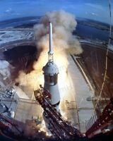 8x10 Print NASA Apollo 11 Saturn Lift Off From Pad #5502830