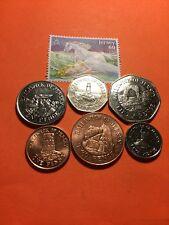 2014 Bailiwick of Jersey Coins 1p-2p-5p-10p-20p-50p  SET OF 6 COINS ~*