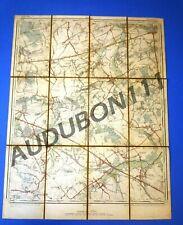 Kadasterkaart LUBBEEK en omgeving Lovenjoel-Boutersem-Vertrijk-Kerkom 1896(N321)