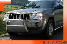 JEEP GRAND CHEROKEE WK 2005-2010 TUBO PROTEZIONE MEDIUM BULL BAR INOX