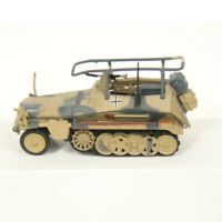 New 1/72 Scale WWII German Sd.kfz.251 Armor Halftrack Desert Camo Metal Model