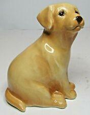 BESWICK Ceramic Puppies 2007 - Labrador Pup In Yellow