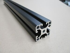 4040 Aluminium Profile Item Compatible with a 8mm T-slot Black Anodised