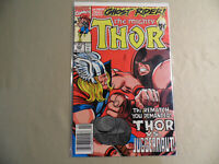 The Mighty Thor #429 (Marvel 1991) Newsstand Variant / Ghost Rider