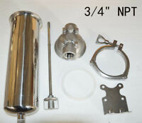 "New 3/4""NPT  Stainless Pressure Filter Housing for 10""L Cartridges free shipping"