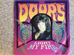 "The Doors ""Light my fire"" 7"" vinyl single"