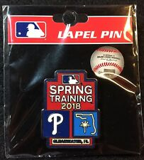 Philadelphia Phillies 2018 MLB Spring Training Lapel Pin Clearwater, FL