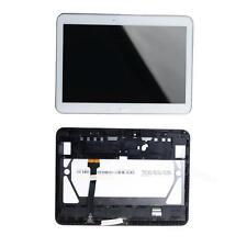 White Fr Samsung Galaxy Tab 4 10.1 SM-T530 LCD Display Touch Screen + Frame BDRG