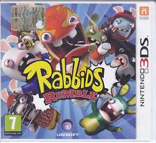 Nintendo 2DS~3DS «RAYMAN RABBIDS RUMBLE» italiano nuovo sigillato