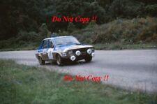 Didier Pironi Renault 12 Gordini Tour de Corse Rally 1975 Photograph