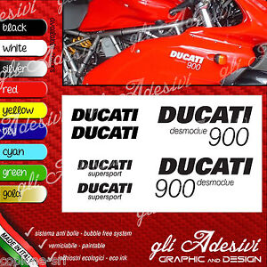 Series Adhesives Stickers Compatible DUCATI 900 Super Sport Desmodue