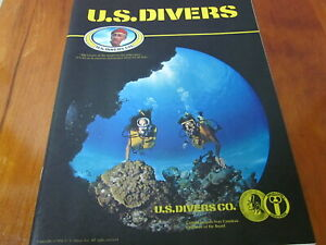scuba vintage 1976 US Divers catalog
