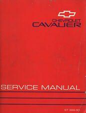 1993 Chevrolet Cavalier GM Factory Service Manual ST-366-93