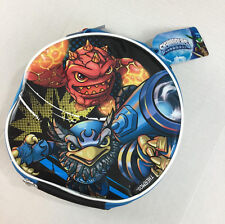 Skylanders Insulated Lunch Box NWT Thermos Round Back Blue Skylanders Characters