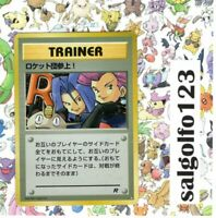 Pokemon trainer card Here Comes Team Rocket Rare Holofoil (played condition).