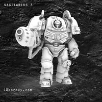 Warhammer 30K 40K MK1 Terminator Saturnine pattern Set if 5 - Proxy Models
