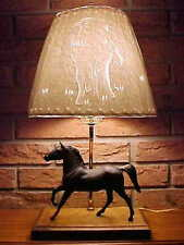 MODEL HORSE LAMP with Breyer & Stunning Cut/Punched/Sculptured Shade - STYLE #2