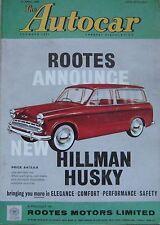 Autocar magazine 15/4/1960 featuring Porsche 356 Super 75 road test