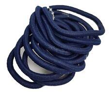 10 Azul Marino de color Endless Elásticas Para Pelo / GOMAS Accesorio