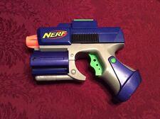 NERF TACTICAL Blue CROSSFIRE PISTOL Dart Gun Blaster 2005 Hasbro No Darts