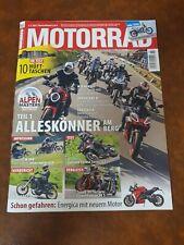 Motorrad Zeitschrift 15/2021, Motorrad Magazin, NEU Alpen Masters
