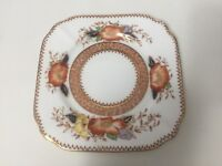 """Vintage Bell China English Bone China Square Plate, Made in England, 6"""" x 6"""""""