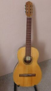 Vintage Parlor size Spanish Flamenco Classical Guitar from 1960 s.