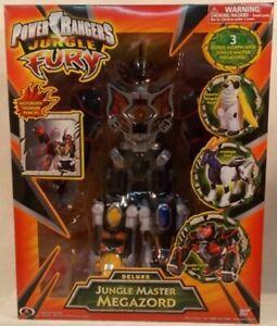 Power Rangers Jungle Fury Deluxe Jungle Master Megazord Penguin Antelope Zord