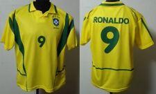 MONDO REPLICA BRASILE 2002  VERDEORO  RONALDO  9 TG. XL