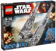 LEGO 75104 Star Wars Kylo Ren's Command Shuttle (Brand New)