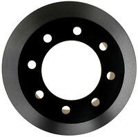 Disc Brake Rotor-Black Hat Rear ACDelco Pro Brakes 18A1417