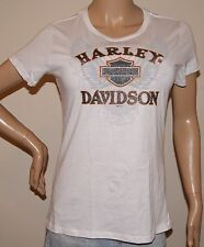 WOMENS RARE SEXY HARLEY DAVIDSON SHORT SLEEVE  TOP Sz LARGE  NWT