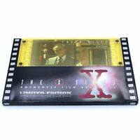 The X-Files 35mm Collector Film Cels Rare 1996 Deep Throat Limited Edition