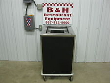 """Stainless Steel Cabinet for 14"""" x 18"""" Serving Tray Platform Lowerator Dispenser"""