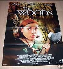 Filmposter A1 Neu Filmplakat The Woods - Bruce Campbell