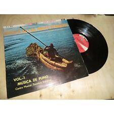 THEODORO VALCARCEL musica de los andes peruanos ANDEAN FOLK SONO RADIO PERU Lp